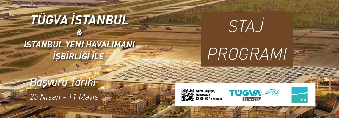 TÜGVA İstanbul & İYH Staj Programı