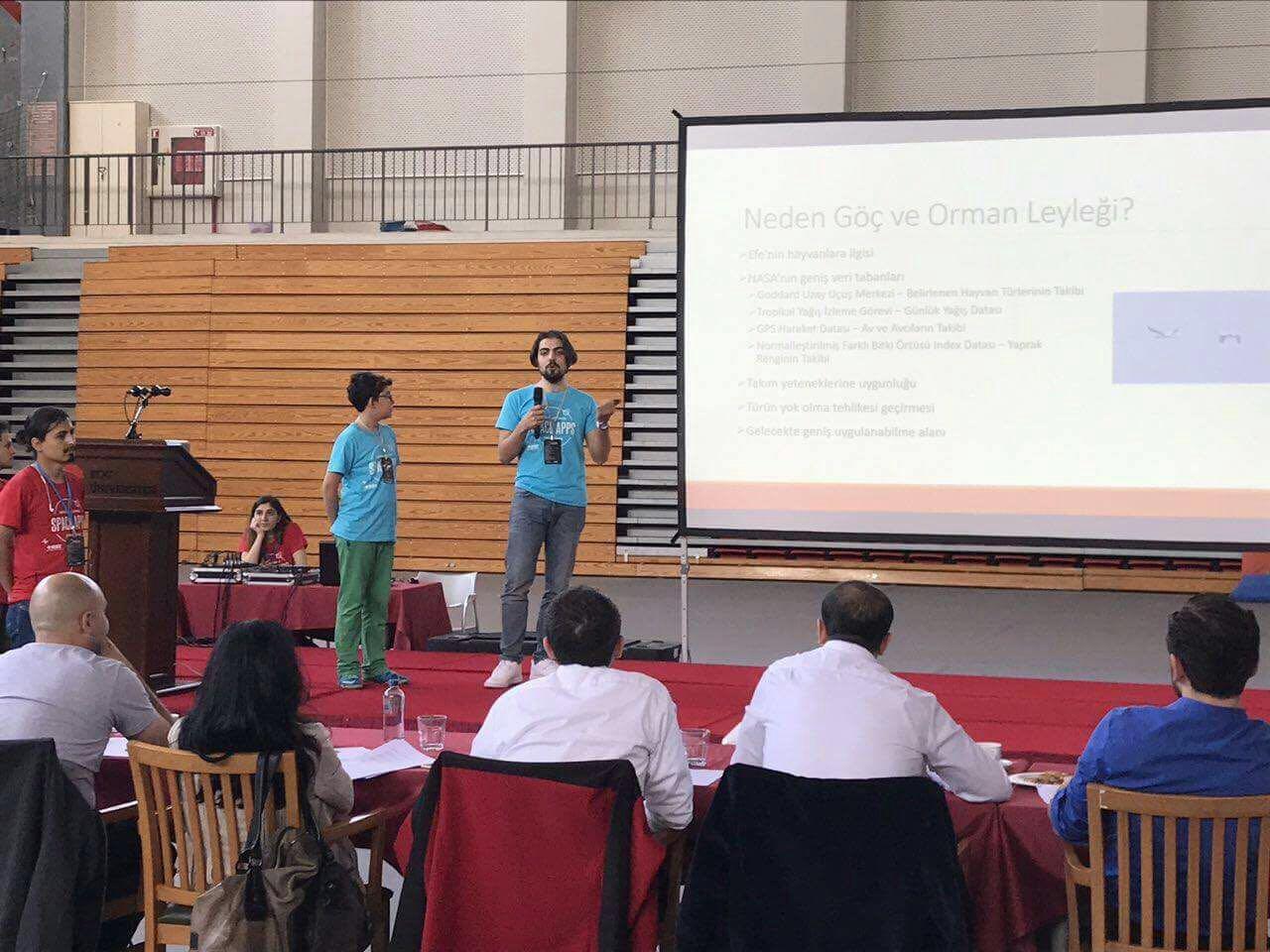 Nasa Space App Challenge Yarışmasında Birincilik