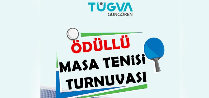 TÜGVA Güngören Ödüllü Masa Tenisi Turnuvası
