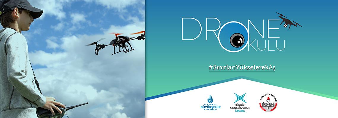 Drone Okulu ile Sınırları Yükselerek Aş