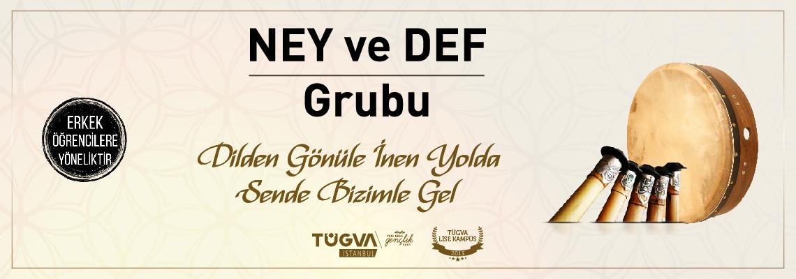 TÜGVA İstanbul Lise Ney ve Def Grubu