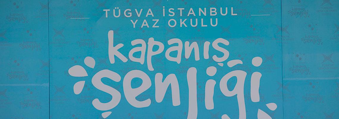 TÜGVA İstanbul 2018 Yaz Okulu Kapanış Şenliği Gerçekleştirildi