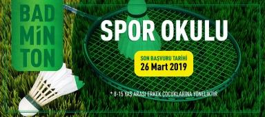 Badminton Spor Okulu