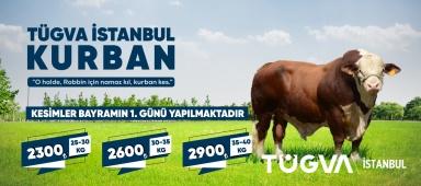 TÜGVA İSTANBUL 2021 KURBAN ORGANİZASYONU