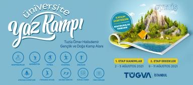TÜGVA İstanbul Üniversite Yaz Kampı