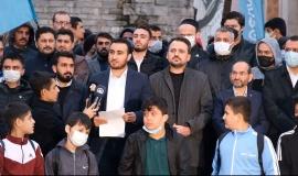 Hakikat Kazanacak Demek İçin Taksim Camii'nde Buluştuk